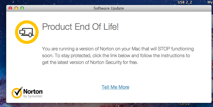 My norton software is showing my subscription as expired. I know i.