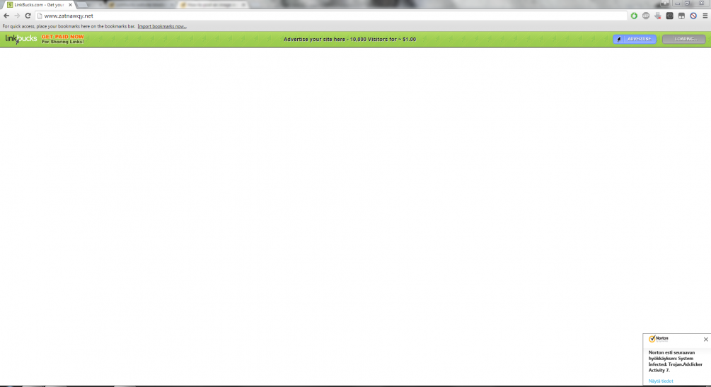Linkbucks website blocked, how to unblock it? | Norton Community