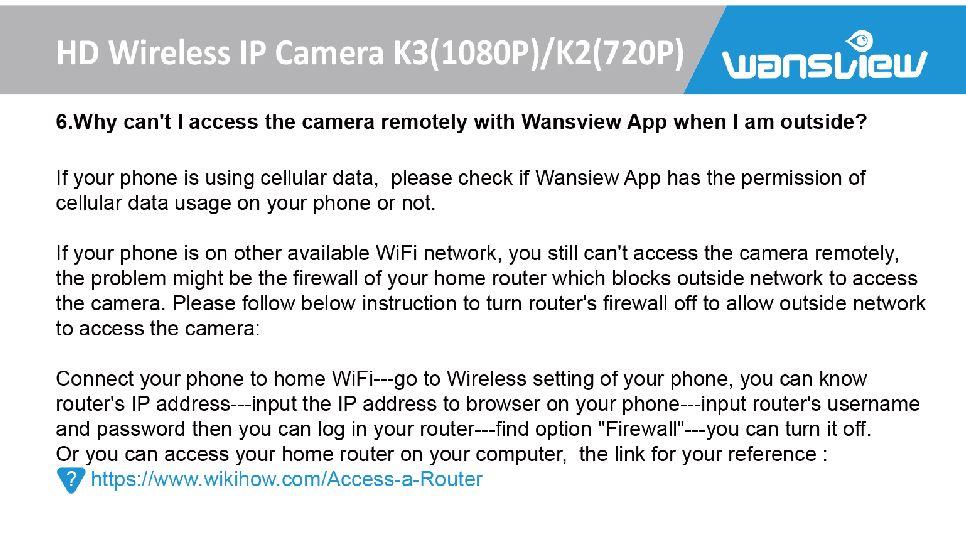 Get Wi-fi cam through firewall | Norton Community