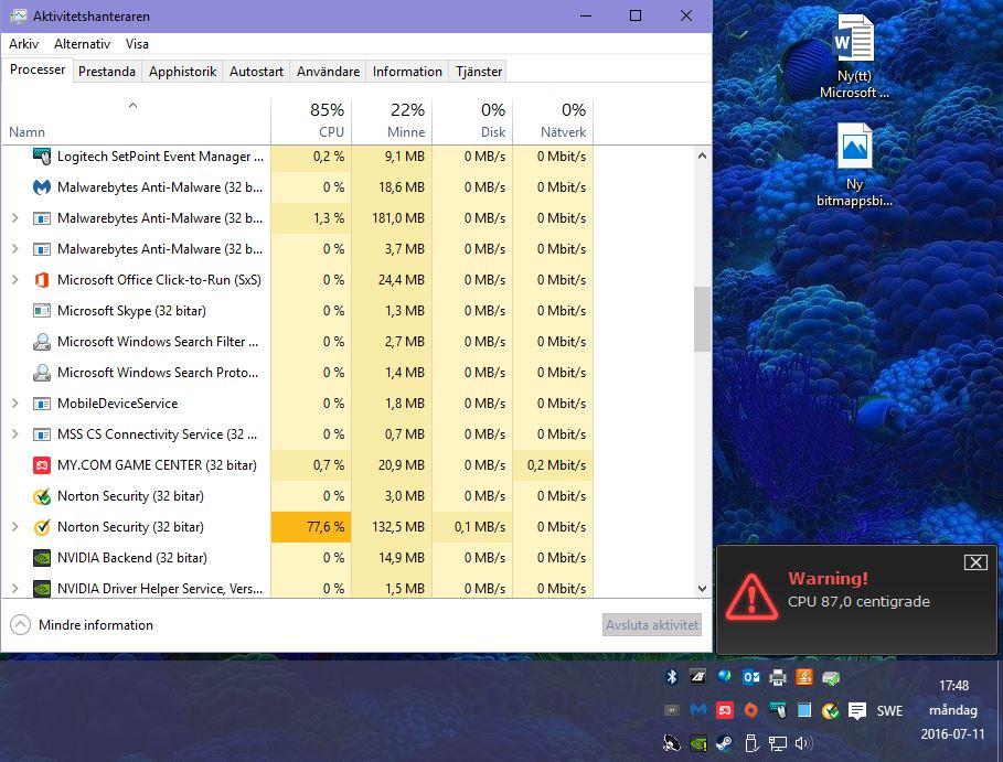 Norton Security causing high CPU Usage | Norton Community