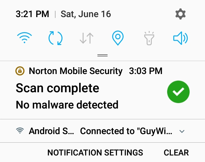 Norton Sec icon gone after Oreo Update also Issues with App