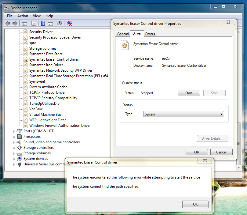 HOW TO DELETE SYMANTEC ERASER CONTROL DRIVERS DOWNLOAD FREE