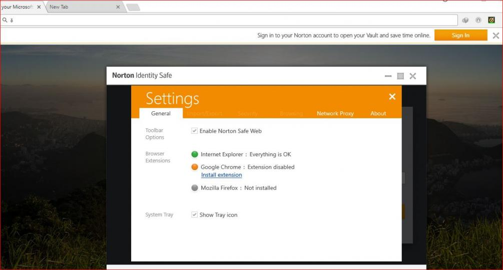 Norton Identity Safe for Chrome got updated to 3 0 0 298, however