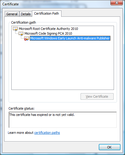 14 Inspirational Microsoft Code Signing Pca Certificate Expired Run A Deeper Scan With Malicious Removal Tool And Find Out