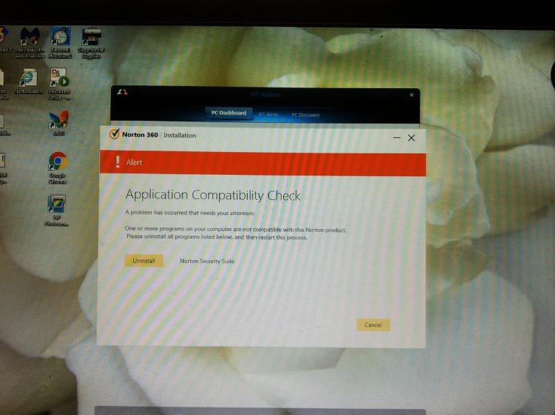 Problems with reinstalling Norton Internet Security | Norton