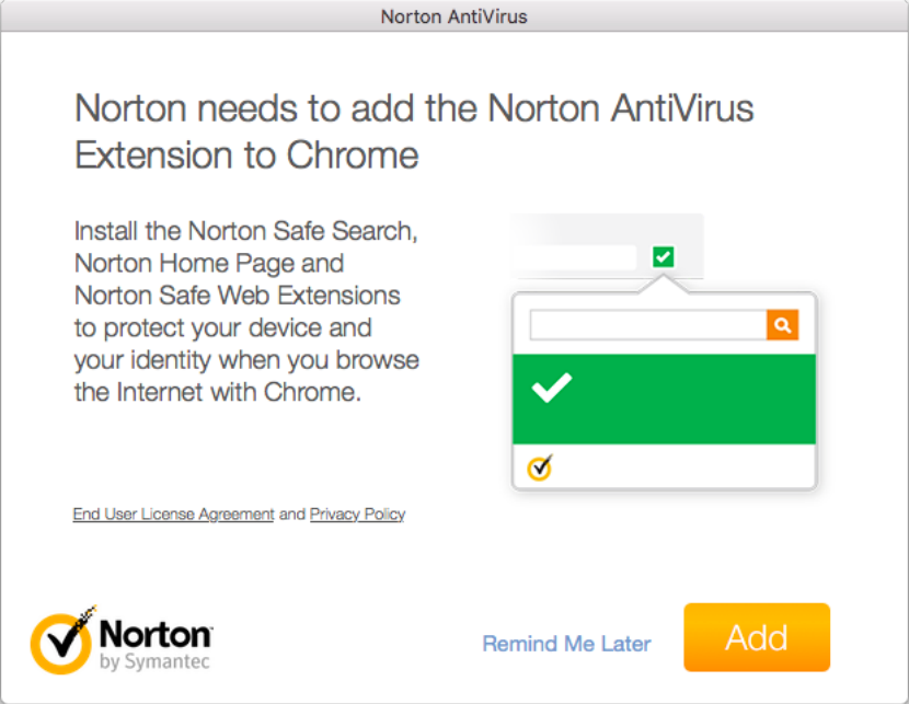 Stop Norton from installing Safari Extension | Norton Community