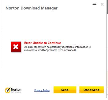 Cannot Download Norton on Windows 10 | Norton Community