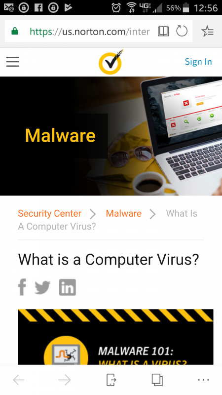 My android app has been claimed as malware | Norton Community