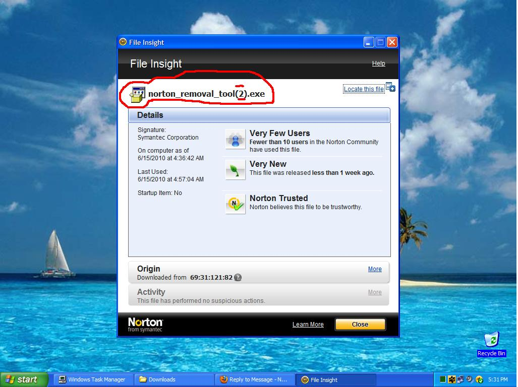 Norton Removal Tool Failure & NIS 2010 Settings Changed Internet Connection Type | Norton Community